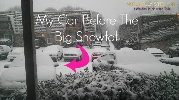 Snow In Nashville Start of #JonasBlizzard2016 | Naturally Stellar