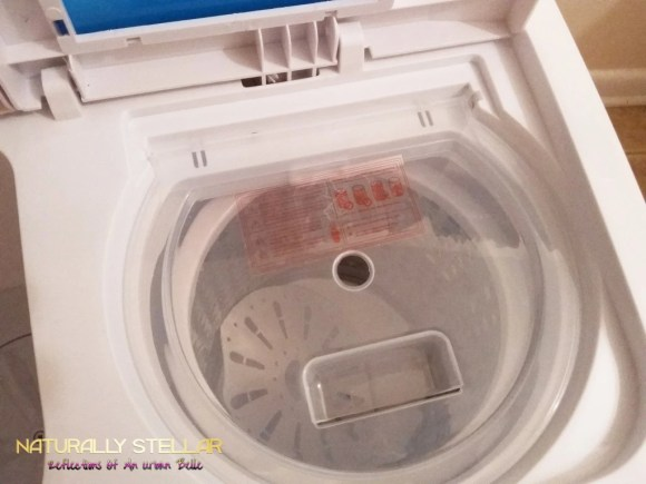Spin Basin on Xtremepower US Mini portable washing machine