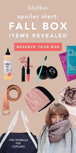 Fab Fit Fun Fall Subscription Box | Naturally Stellar