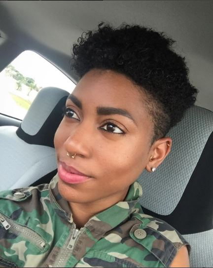 Cute precision cut twa on @imbrittanybrown | Naturally Stellar
