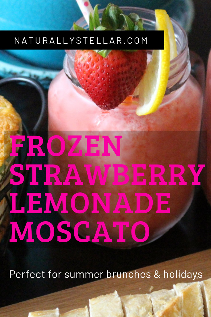 Frozen Strawberry Moscato Recipe | Naturally Stellar