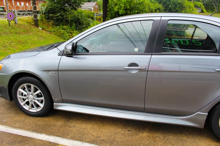 2016 Mitsubishi Lancer Side View | Naturally Stellar