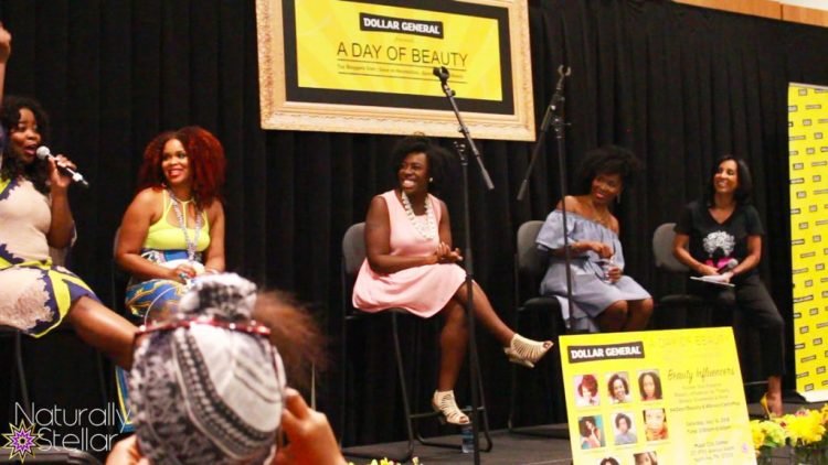 Beauty Panel with Kim Kimble | Dollar General presents A Day Of Beauty 2016 | Naturally Stellar