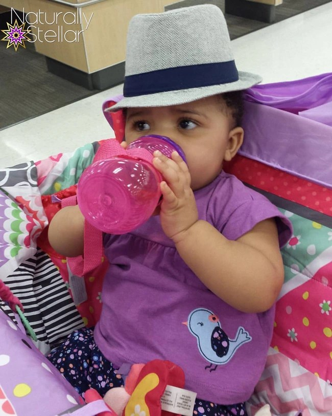 My daughter got attached to this cute hat on my last trip to Target. Baby Boys' Herringbone Fedora Hat Baby Cat & Jack™ - Grey