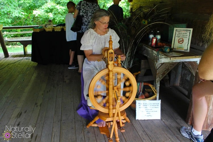 Spinning Yarn | Tennessee Agricultural Museum - Summer Saturdays | Naturally Stellar