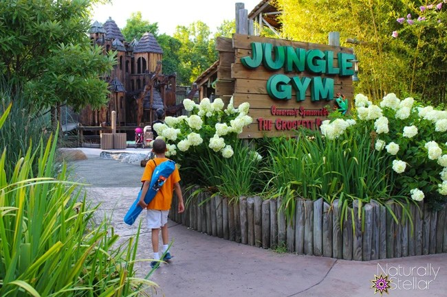 Nashville Zoo Jungle Gym | Hulu Summer Road Trip - Nashville, TN | Naturally Stellar