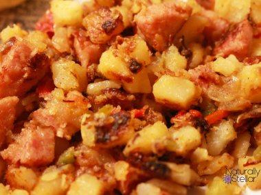 Bacon Smoked Sausage Obrien   Naturally Stellar