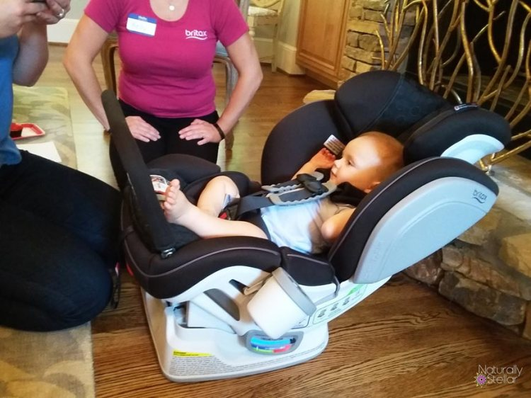 Britax In Home Demo - Baby Safety Month | Naturally Stellar
