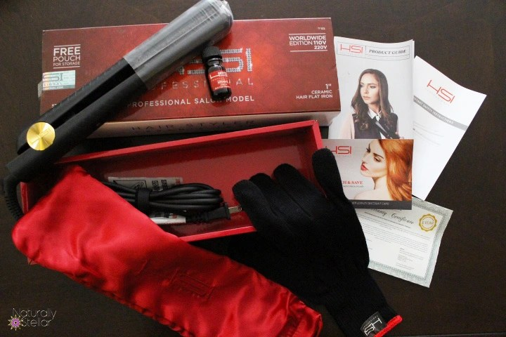 HSI Professional Ceramic Flat Iron Review | Naturally Stellar