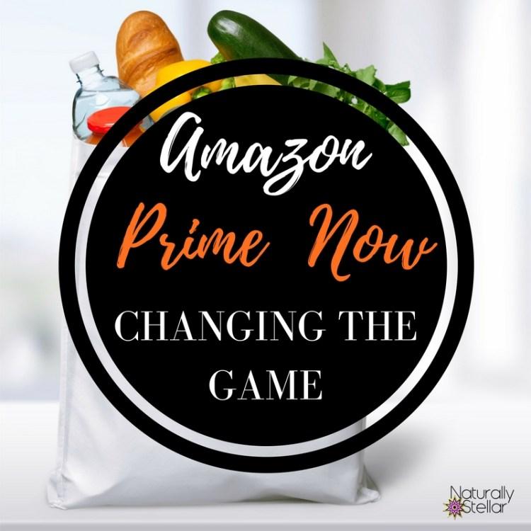 Amazon Prime Now | Naturally Stellar