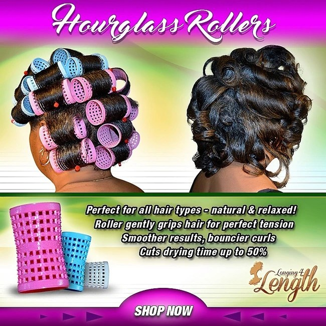 Her Business | Longing 4 Length Hourglass Rollers | Naturally Stellar