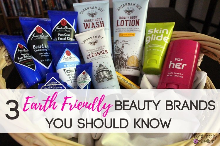 Earth friendly beauty brands you should know | Naturally Stellar