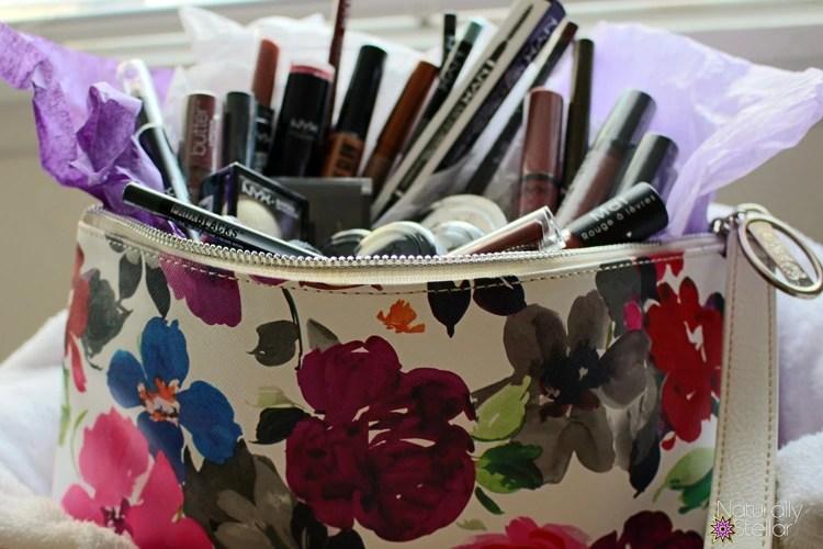 Mother's Day | Makeup Stuffed Clutch | Naturally Stellar