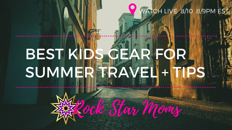 Travel Gear For Toddlers | Naturally Stellar