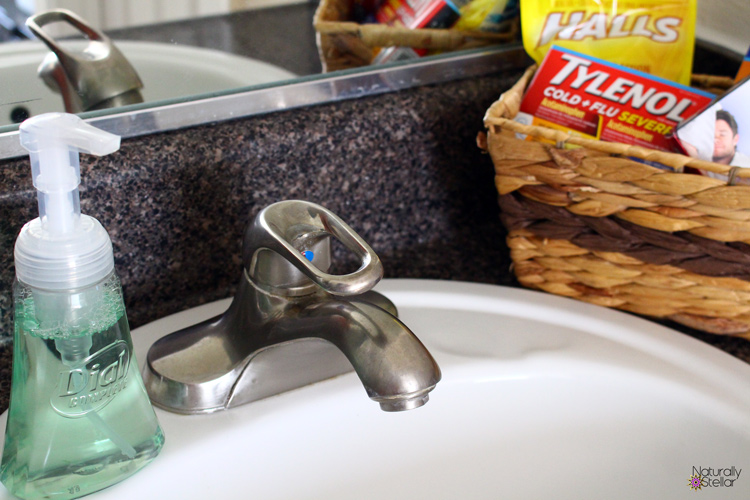Keep your home germ free #HappilyStocked | Naturally Stellar
