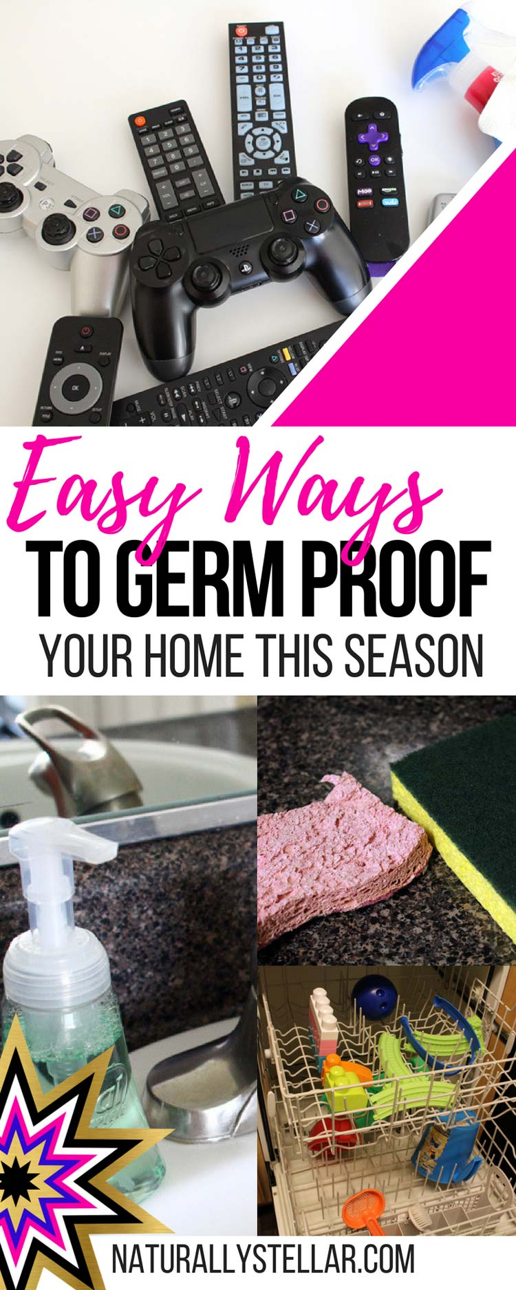 Easy Ways To Germ Proof Your Home | Naturally Stellar