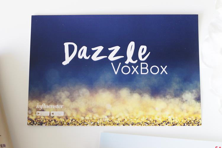 Dazzle VoxBox Influenster | Naturally Stellar