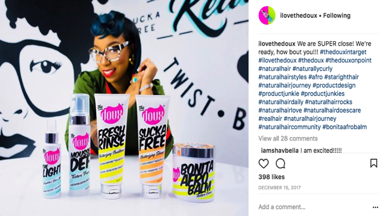 The Doux Combines Love And Hip Hop For Natural Hair