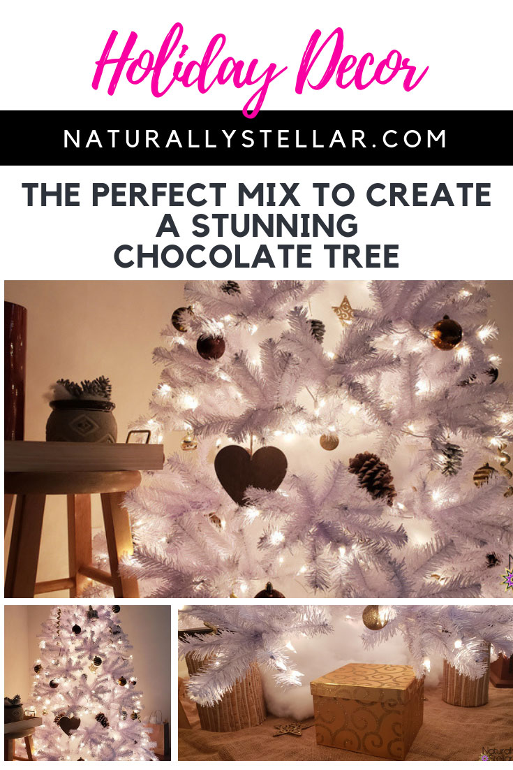 Creating A Gorgeous Chocolate Tree | Naturally Stellar