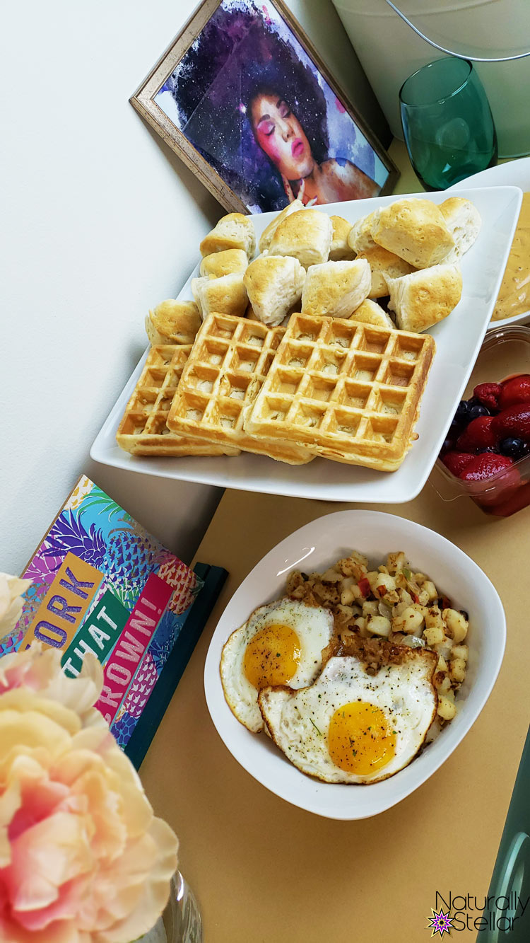 Celebrate Your Girls At Home With A Mini Brunch - Tutorial | Naturally Stellar