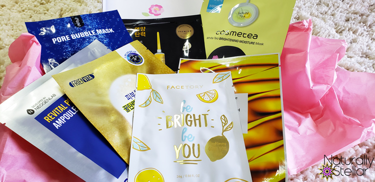 Korean Beauty Masks Why I'm Hooked   Naturally Stellar