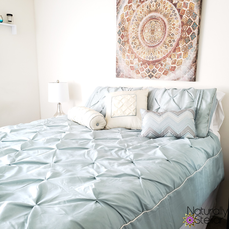 Summer Master Bedroom Makeover Mini Tour | Naturally Stellar