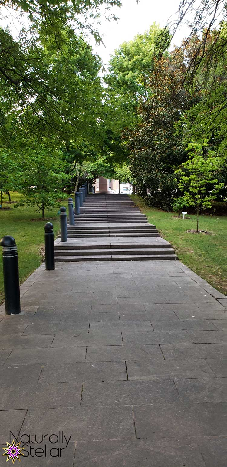 Keeping Family Time Simple This Summer - Nashville Park Stairs | Naturally Stellar