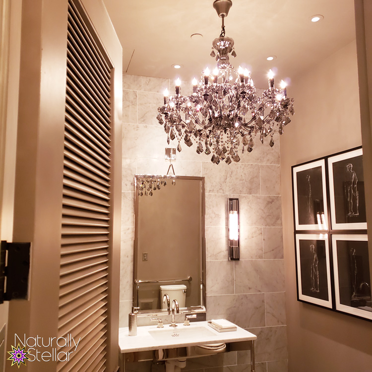 Date Night at Restoration Hardware Nashville - Fancy Bathroom | Naturally Stellar