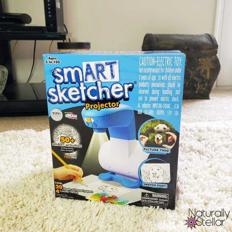 STEM and STEAM activities to keep kids busy. Smart Sketcher Projector | Naturally Stellar