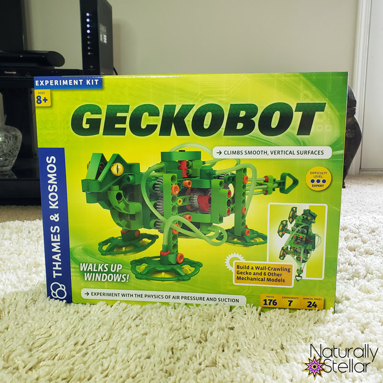 STEM and STEAM activities to keep kids busy. Geckobot Stem Toy | Naturally Stellar