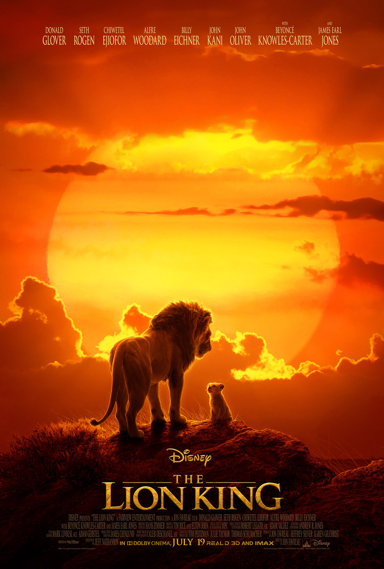 Disneys The Lion King Poster
