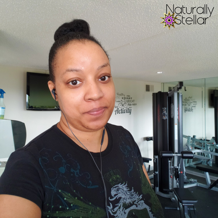 After workout gym face | Naturally Stellar