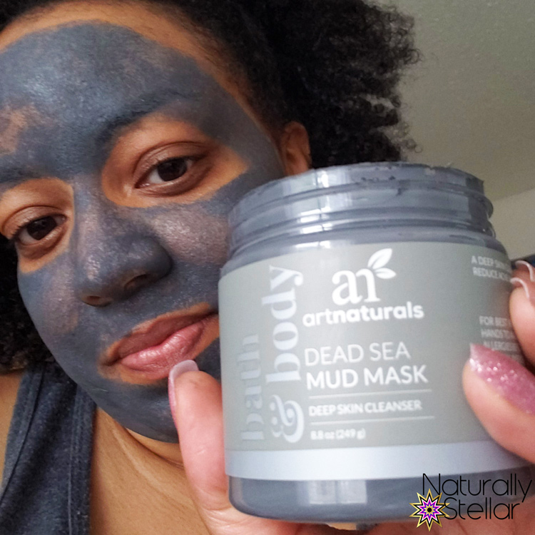 After workout facial mask