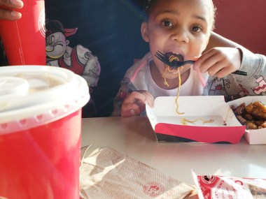 Family dinner at Panda Express | Naturally Stellar