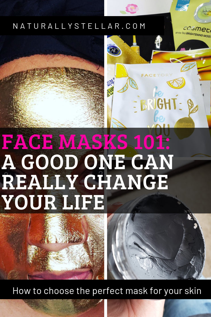 Choosing a good face mask - types | Naturally Stellar