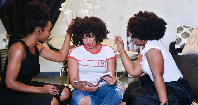 The Anatomy Of A Dope And Supportive Tribe - Curly Haired Friends | Naturally Stellar