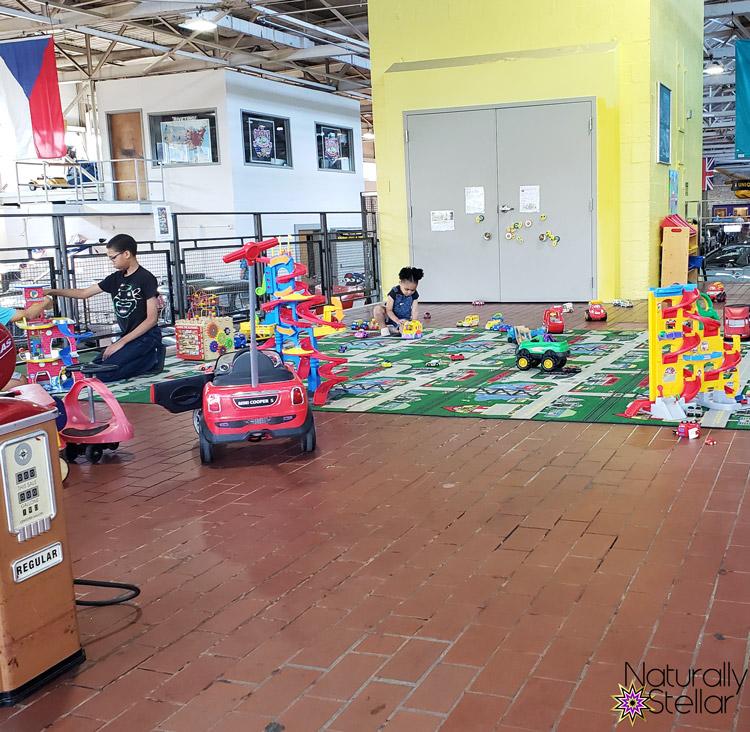 Kids Play Area Lane Motor Museum | Naturally Stellar