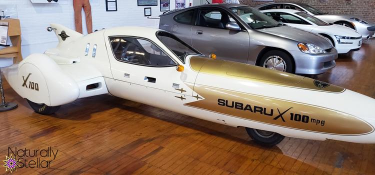 Subaru X-100   Naturally Stellar