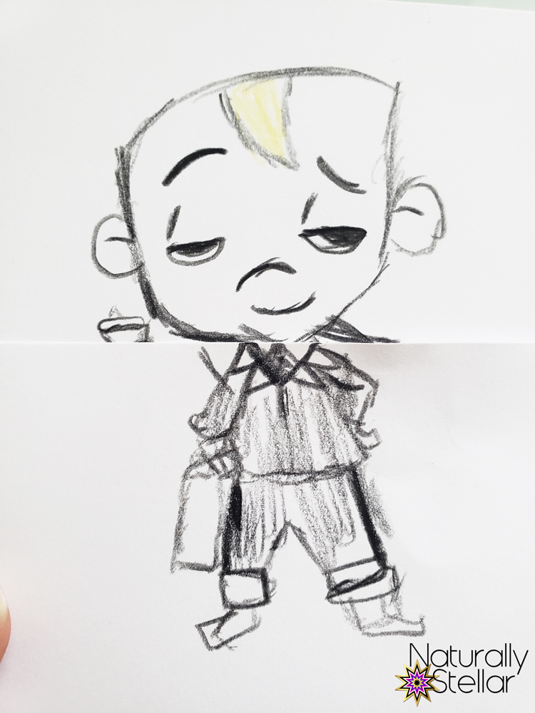 How To Draw Boss Baby Camp Dreamworks