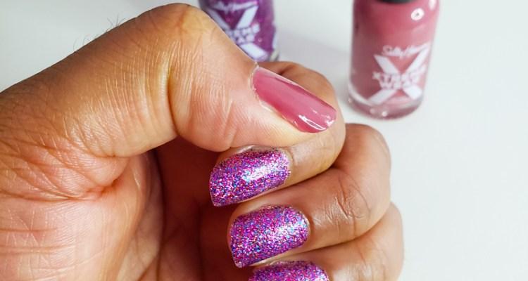 Sally Hansen Manicure on Natural Nails - Naturally Stellar