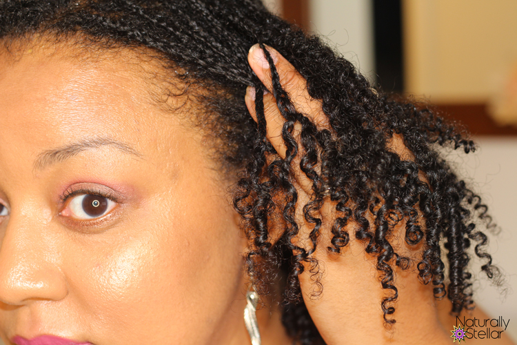 Wash day routine - styling mini braids | Naturally Stellar