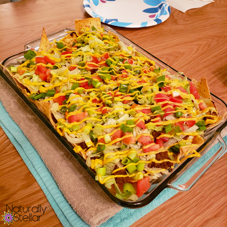 Try this Taco Tuesday alternative. How about Loaded Nachos night! | Naturally Stellar
