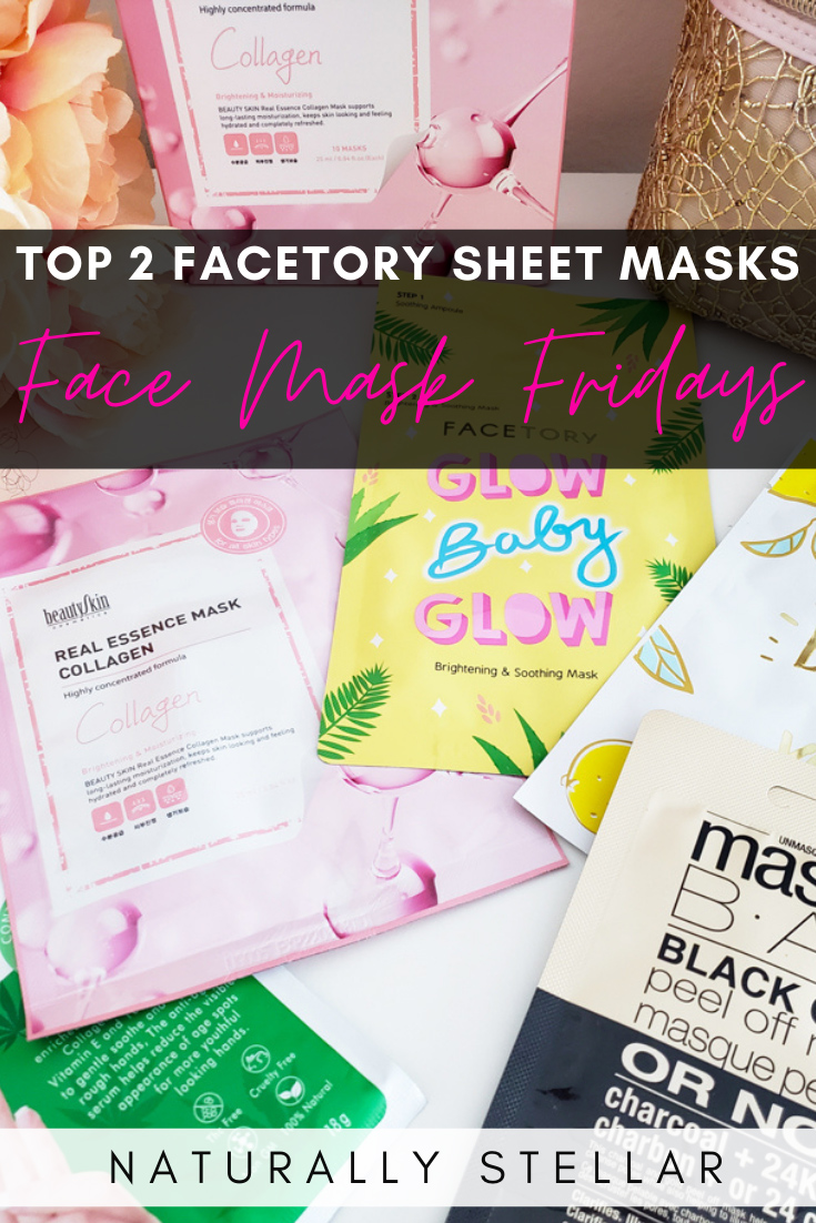 Face Mask Fridays - My top 2 picks from FaceTory | Naturally Stellar