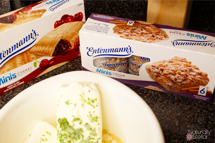 Key lime shortcakes filling ingredients with Entenmanns | Naturally Stellar