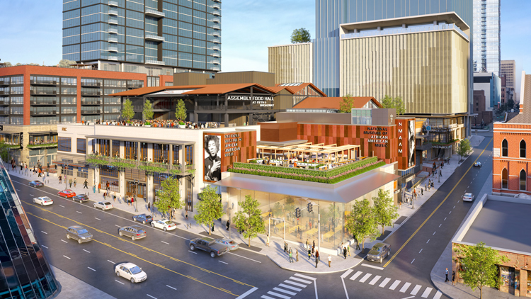 National Museum of African American Music in Nashville - artist rendering | Naturally Stellar
