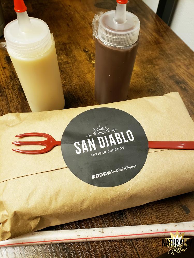 Have fun making churros at home with San Diablo take and bake kits | Naturally Stellar