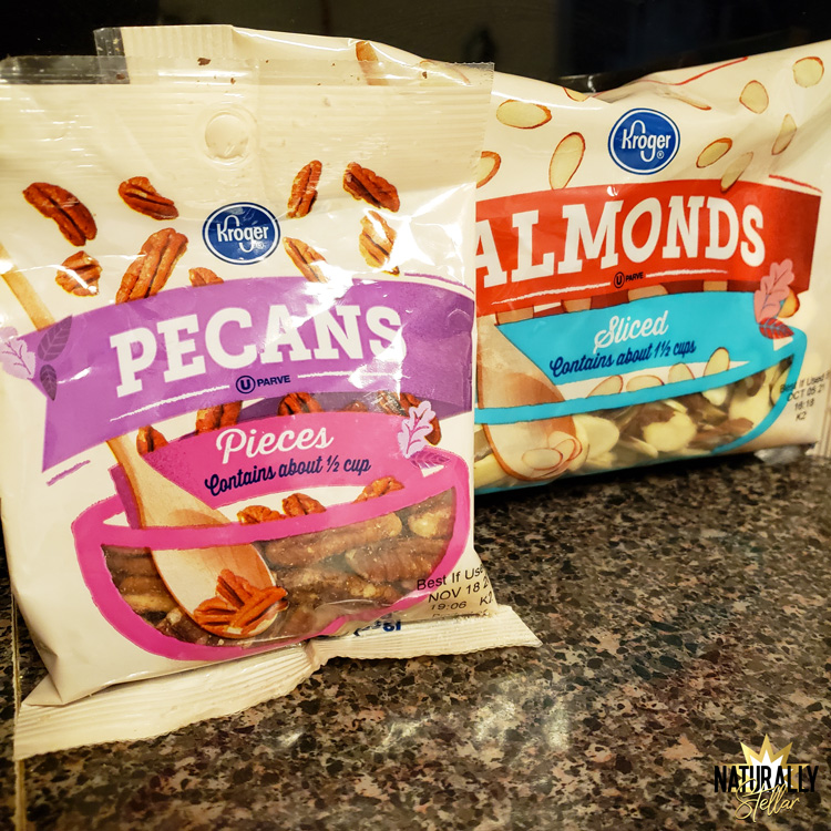 Kroger baking nuts are perfect for homemade fudge | Naturally Stellar