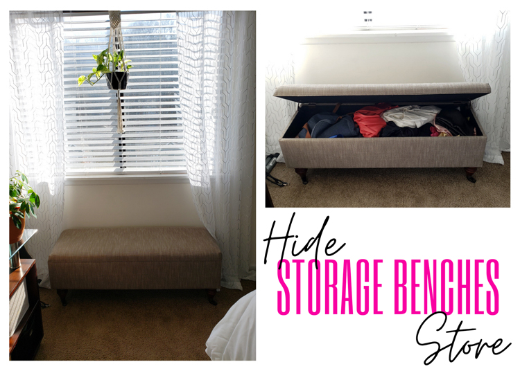 Chic ways to hide clutter and better organize your home | Naturally Stellar