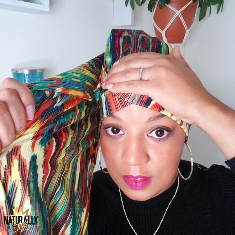 easily style one piece headwraps with these simple steps | Naturally Stellar