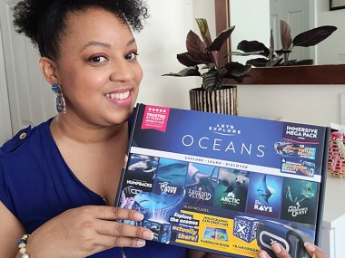 Let's Explore: Oceans VR Headset review and giveaway